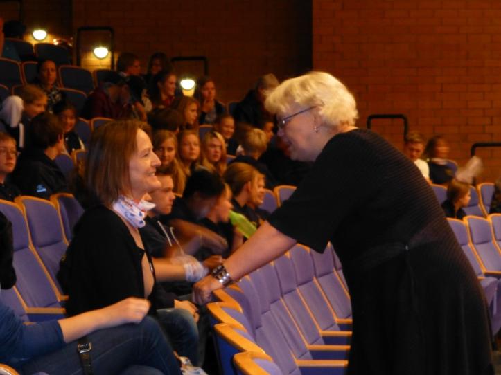Astrid Holum fra Eidsvoll Kulturskole og Inger Anne Westby fra musikkhøgskolen