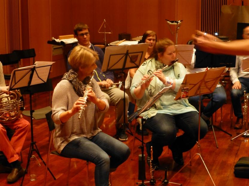 Eidsvoll Janitsjarkorps og Eidsvoll Værk Musikkorps i skjønn forening