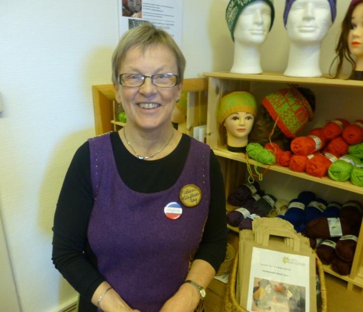 Her ser vi Ingrid Grene Henriksen i Badebakken i dag. Hun har en finger med i det meste av det som er beskrevet her.