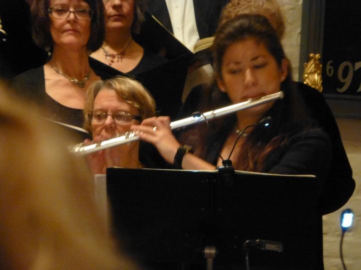 Yuri Murikami med fløytesolo