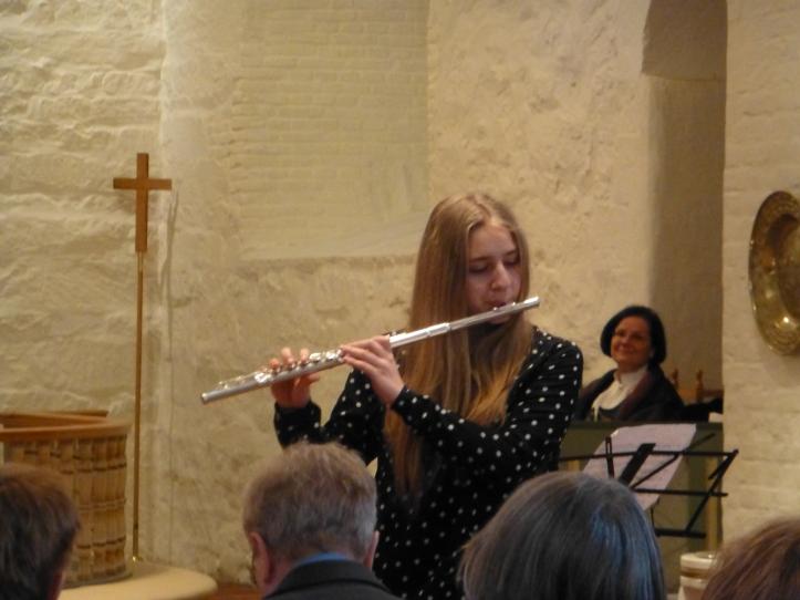 Sara spiller Händel