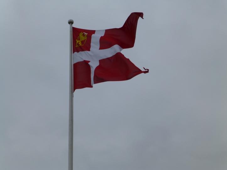 Et uvant flagg i dag