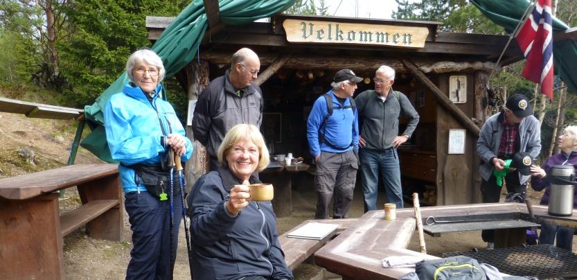 Kaffe i Bouquet-dalen
