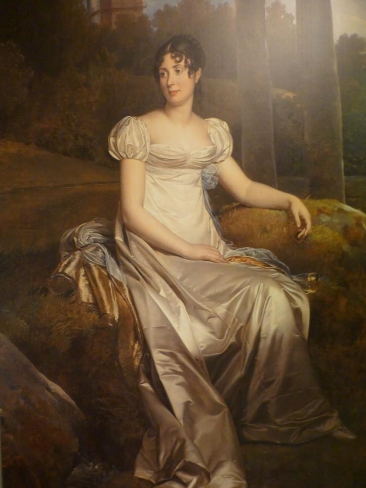 Drottning Desideria, flott portrett i Kunstindustrimuseet