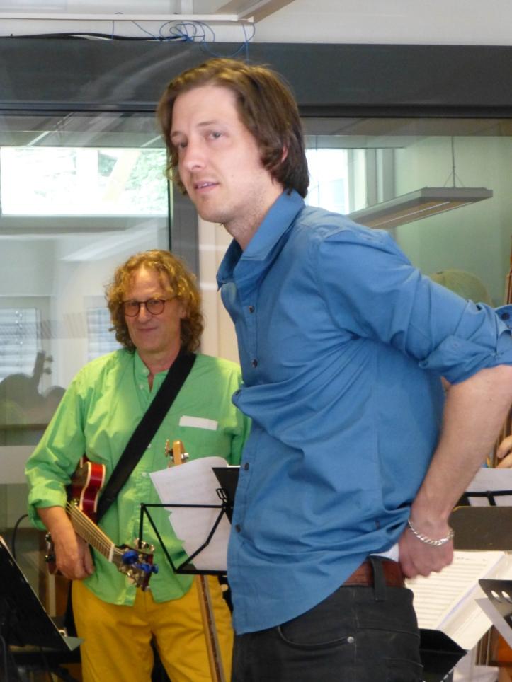 Musikalsk leder Espen Ramsli Fredriksen