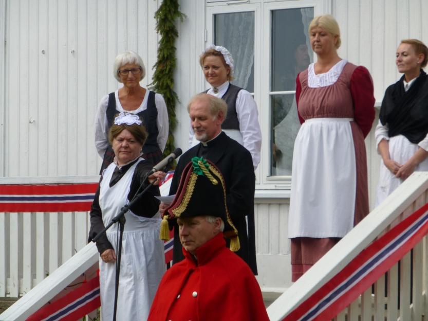 Prost Leganger og jomfru Jahr ønsker velkommen