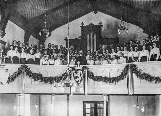 Eidsvoll kirke 17. mai 1914