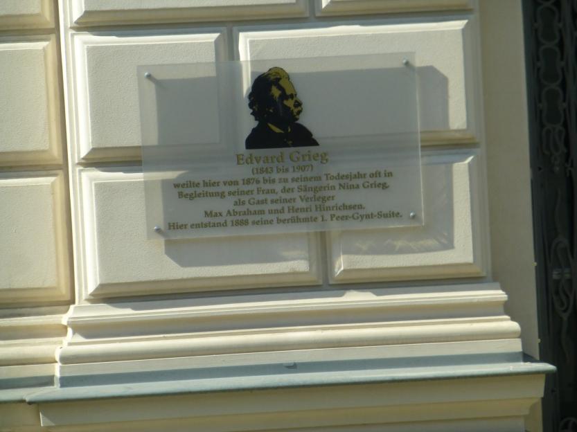 Leipzig - tilholdssted for norske ku