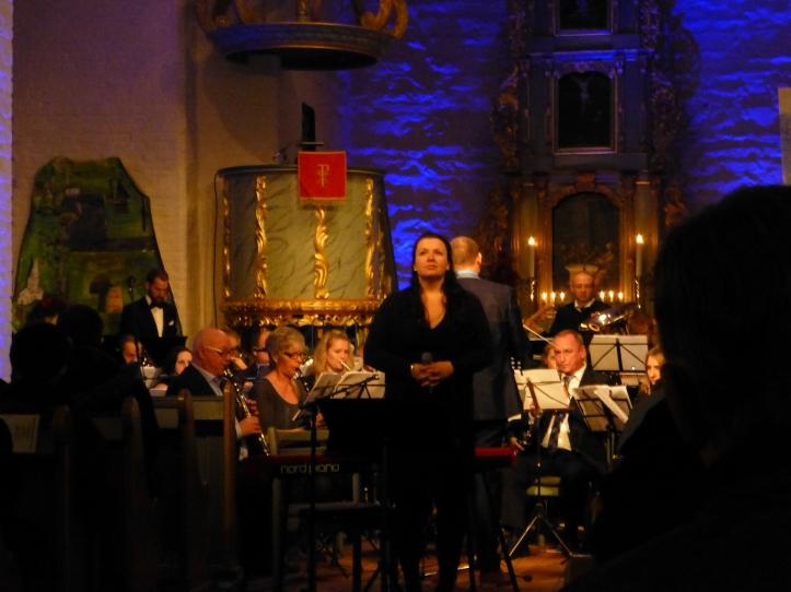 Vi var så heldige at vi hadde Ann Beate Solstad Eide med oss i kveld.