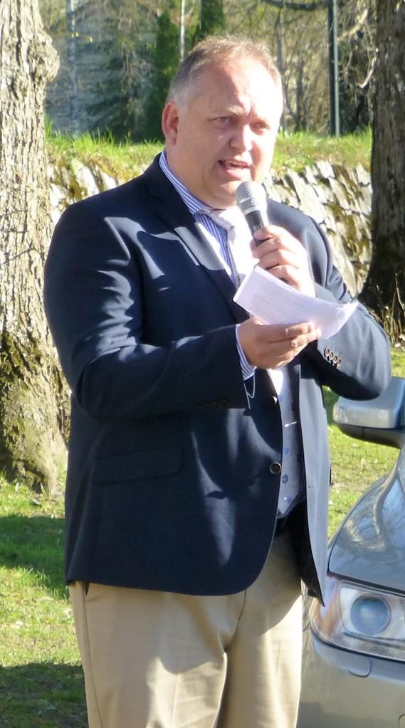 Eidsvolls ordfører, John-Erik Vika